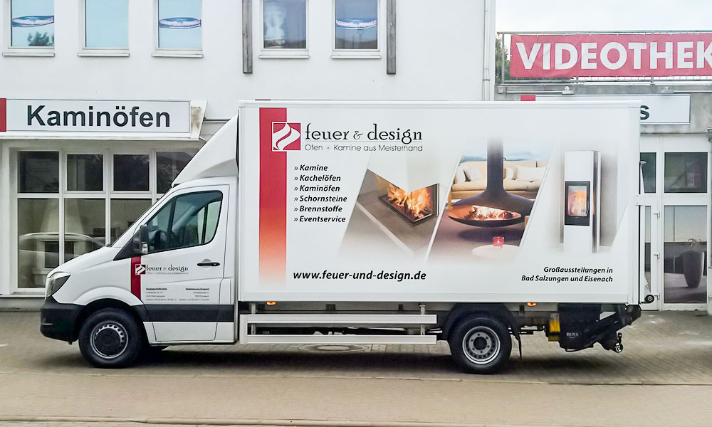 feuer design lkw beschriftung carwrapping. Black Bedroom Furniture Sets. Home Design Ideas